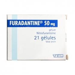Thuốc Teva Furadantine 50mg, Hộp 21 viên