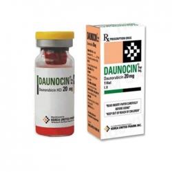 Thuốc tiêm Daunocin 20mg, Hộp 1 lọ Inj