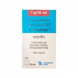 Thuốc tiêm điều trị ung thư Cytarine 1g/10ml, Lọ 10ml