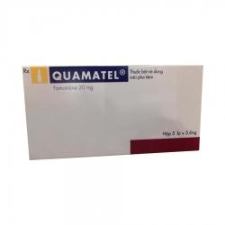 Thuốc tiêm Quamatel 20mg/5ml, Famotidine 20mg, Hộp 05 lọ