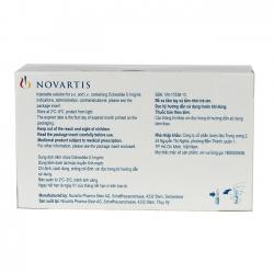 Thuốc tiêm Novartis Sandostatin 0,1mg/ml   Inj, Hộp 5 lọ