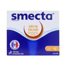 Thuốc tiêu chảy Smecta, Hộp 30 gói