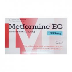 Thuốc tiểu đường PMP Metformin EG 1000mg