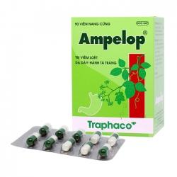Thuốc tiêu hóa AMPELOP, Hộp 90 Viên