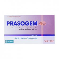 Thuốc tiêu hóa BV Pharma Prasogem 40mg, Hộp 14 viên