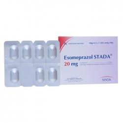 Thuốc tiêu hóa sTadenex CAP 20mg, Esomeprazole STADA 20mg