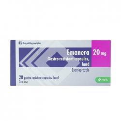 Thuốc tiêu hóa Krka Emanera 20mg 28 viên