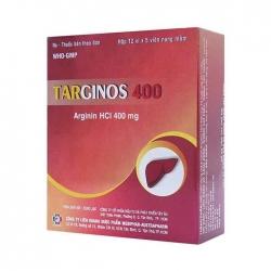 Thuốc tiêu hóa Mebiphar Targinos 400mg, Hộp 60 viên