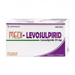 Thuốc tiêu hóa Medisun Medi-Levosulpirid, Hộp 30 viên