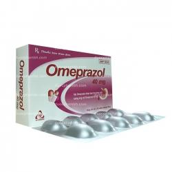 Thuốc tiêu hóa OMEPRAZOL - Omeprazol 40mg