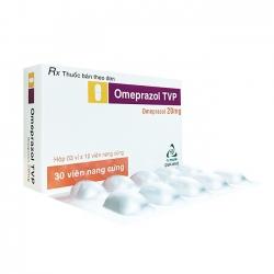 Thuốc tiêu hóa OMEPRAZOL TVP - Omeprazol 20mg