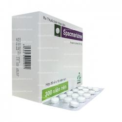 Thuốc tiêu hóa SPACMAZINE - Alverin Citrate 40mg