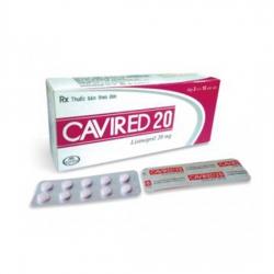 Thuốc tim mạch Abbott Cavired 20mg | Hộp 30 viên