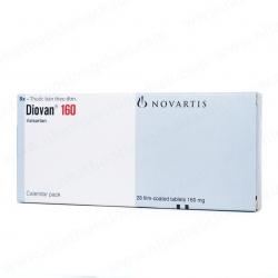 Thuốc tim mạch Diovan 160 - Valsartan 160mg, Hộp 2 vỉ x 14 viên