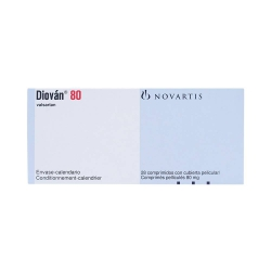 Thuốc tim mạch Diovan 80 - Valsartan 80mg, Hộp 2 vỉ x 14 viên