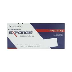 Thuốc tim mạch Exforge 10/160 - Amlodipine/valsartan, Hộp 2 vỉ x 14 viên