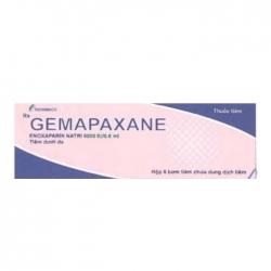 Thuốc tim mạch Gemapaxane 6000IU/0,6ml Hộp 6 ống