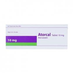 Thuốc tim mạch Healthcare Atorcal 10mg, Hộp 30 viên