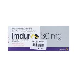 Thuốc tim mạch Imdur 30 - Isosorbide mononitrate 30mg, Hộp 2 vỉ x 15 viên