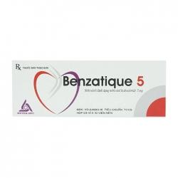 Thuốc tim mạch Meyer-BPC Benzatique 5mg, Hộp 30 viên