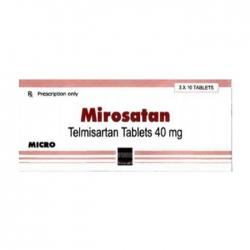 Thuốc tim mạch Mirosatan 40mg, Hộp 30 viên