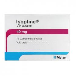 Thuốc tim mạch Mylan Isoptine 40mg 75 viên