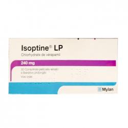 Thuốc tim mạch Mylan Isoptine LP 240mg, Hộp 30 viên