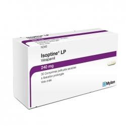 Thuốc tim mạch Mylan Isoptine LP Verapamil 240mg, Hộp 30 viên