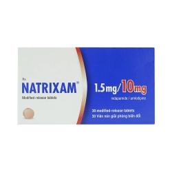 Thuốc tim mạch Natrixam 1.5Mg/10Mg, Hộp 30 viên
