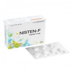 Thuốc tim mạch Nisten-F 7.5mg | Hộp 4 vỉ x 7 viên