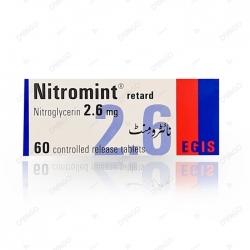 Thuốc tim mạch Nitromint 2.6mg