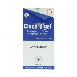 Thuốc tim mạch OPV Clocardigel 75mg