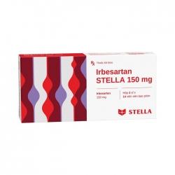 Thuốc tim mạch Stella Irbesartan Stada 150mg, Hộp 28 viên