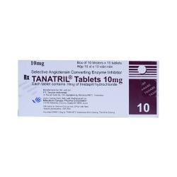 Thuốc tim mạch Tanatril 10mg, Hộp 100 viên