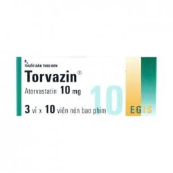 Thuốc tim mạch Torvazin 20mg, Hộp 30 viên