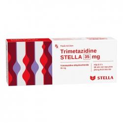 Thuốc tim mạch Trimetazidine Stella 35mg, Hộp 30 Viên