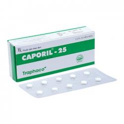 Thuốc tim mạch - tuần hoàn CAPORIL