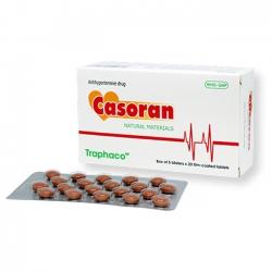 Thuốc tim mạch - tuần hoàn hạ huyết áp Casoran