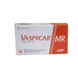 Thuốc tim mạch Vaspycar MR 35mg - Trimetazidine dihydrochlorid 35mg, Hộp 2 vỉ x 30 viên
