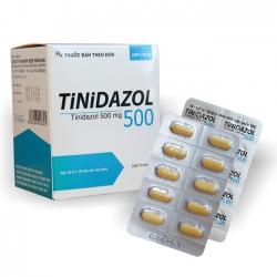 Thuốc Tinidazol 500mg DHG, Hộp 100 viên