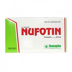 Thuốc trầm cảm Danapha Nufotin 20mg, Hộp 30 viên