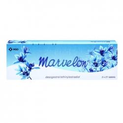 Thuốc tránh thai Marvelon, Hộp 63 Viên
