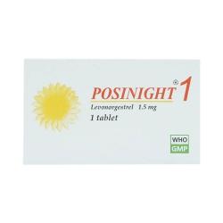 Thuốc tránh thai Posinight 1 1.5mg - Levonorgestrel, Hộp 1 viên