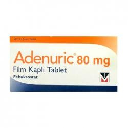 Thuốc gút Adenuric 80mg 28 viên