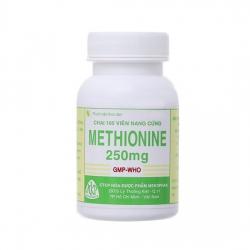 Thuốc trị quá liều Paracetamol Methionine 250mg | Chai 100 viên