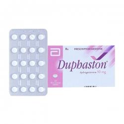 Thuốc trị rối loạn kinh nguyệt Duphaston 10mg | Hộp 1 vỉ x 20 viên