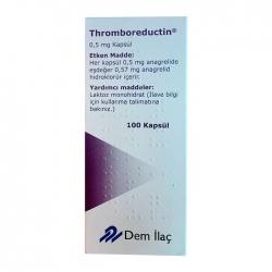 Thuốc trị tăng tiểu cầu Thromboreductin 0.5mg 100 viên