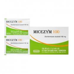 Thuốc trị tiêu chảy Hasan Micezym 100mg 30 gói