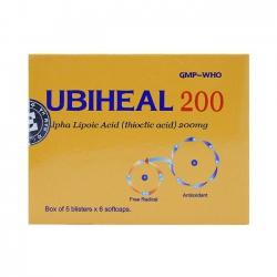 Thuốc Ubiheal 200mg, Hộp 30 viên