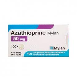 Thuốc ức chế miễn dịch Azathioprine Mylan 50mg 100 viên